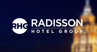 Radisson Blu Moscow by Radisson Hotel Group at night