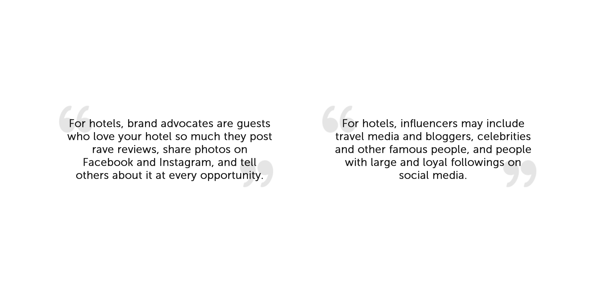 quotes form Adele Gutman about advocates and influencers