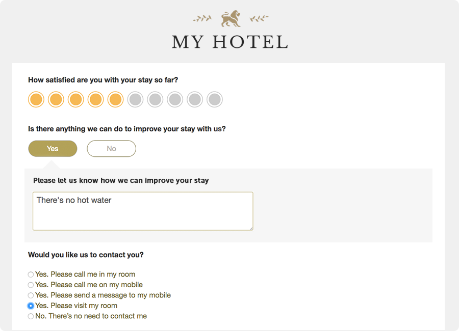Guest Satisfaction Surveys - ReviewPro