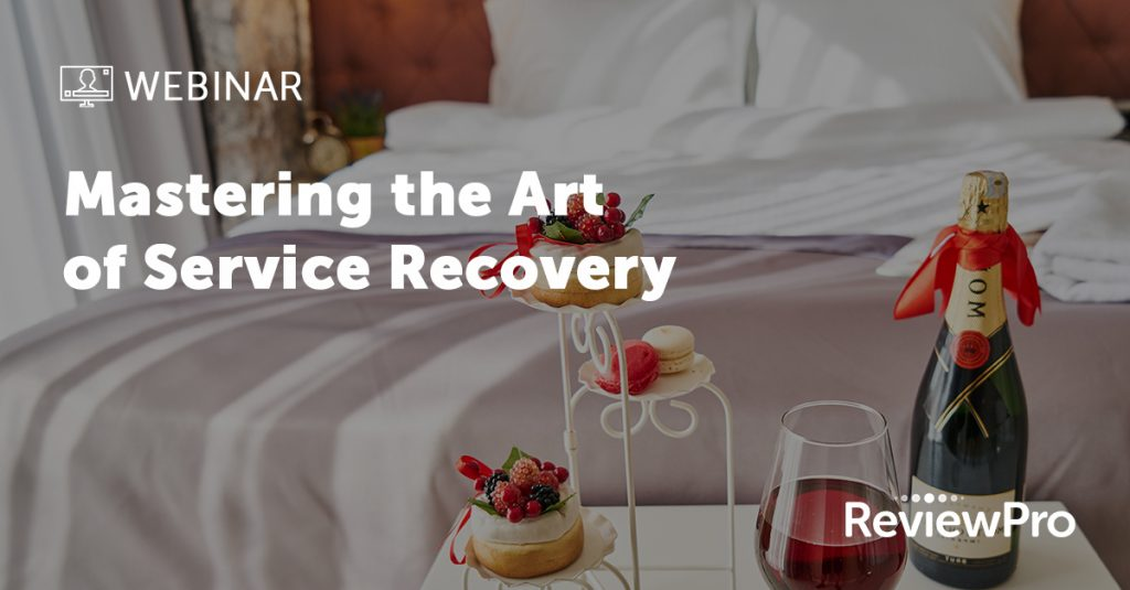 Mastering the art of service recovery webinar