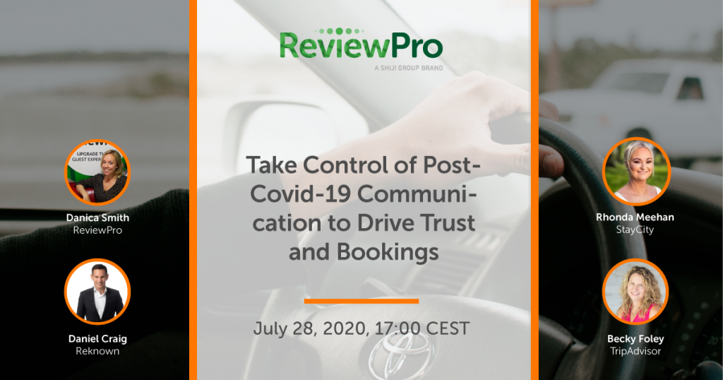 Banner for Webinar: Take Control of Post-Covid-19 Communication
