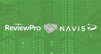announcement partnership between ReviewPro and Navis