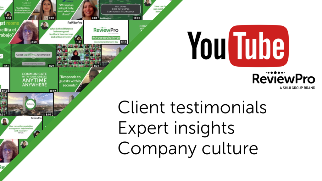 Banner ReviewPro YouTube Launch